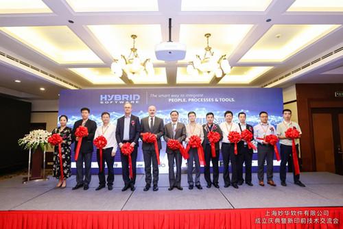 上海妙华软件有限公司成立庆典